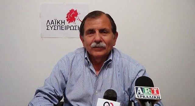 Β.Γούργαρης: Κύριε Τατούλη ούτε συ, ούτε οι «κλακαδόροι» που ουρλιάζουν γύρω μας δεν μπορείτε να αποκρύψετε την πραγματικότητα