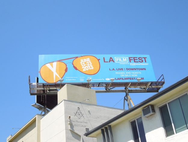 LA Film Fest 2013 billboard