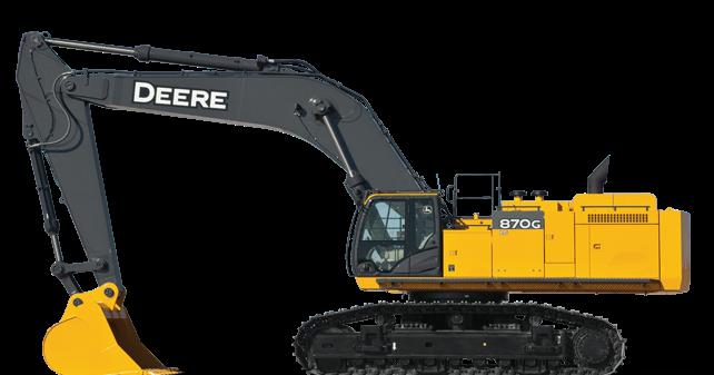 john deere excavators 870g lc  alat berat