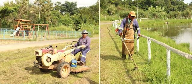 Senador Canedo: Serviços Urbanos são executados no Jardim das Oliveiras