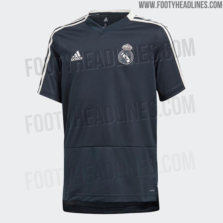 57cae84999d Real Madrid 18-19 Training Kit Leaked - Footy Headlines