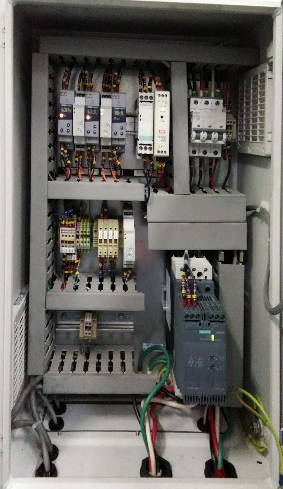Perakitan Panel Kontrol Listrik Teknisi Listrik