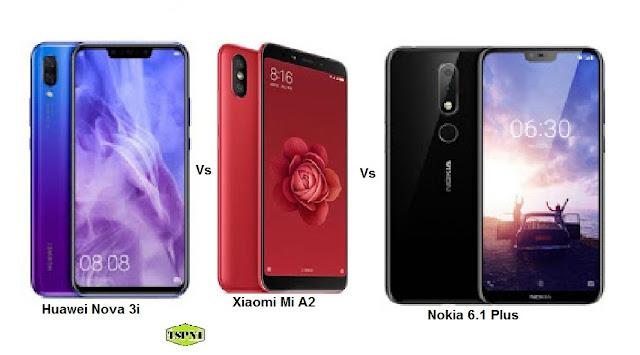 """<img src=""""Xiaomi-Mi-A2-Vs-Nokia-6.1-Plus-Vs-nova-3i.jpg"""" alt=""""Comparison of Xiaomi Mi A2 Vs Nokia 6.1 Plus Vs Huawei nova 3i"""">"""