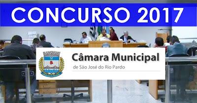 Apostila Câmara de São José do Rio Pardo 2017