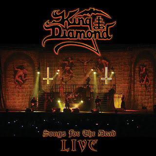 "Ο δίσκος του King Diamond ""Songs for the Dead Live """
