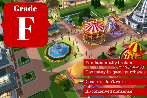 Roller Coaster Tycoon Touch Review | The Bookish Gamer