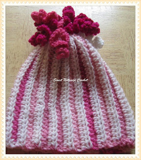 girl crochet cap