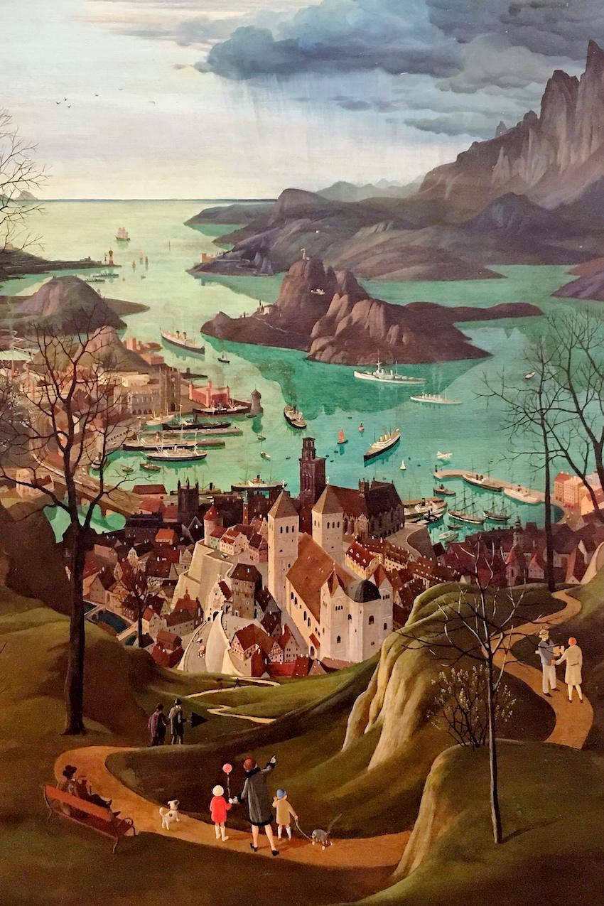 Herbert von Peyl-Hanisch: Die große Hafenstadt, 1928