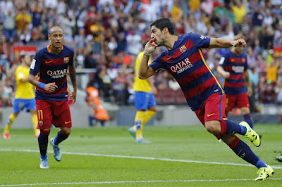 Barcelona vs La Palmas campeonato Espanhol  domingo - 01/10/2017