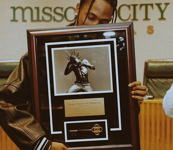 Travis Scott Key To The City