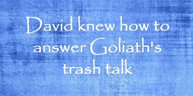 The Most Famous Trash-Talker - How David Closed Goliath's Mouth!