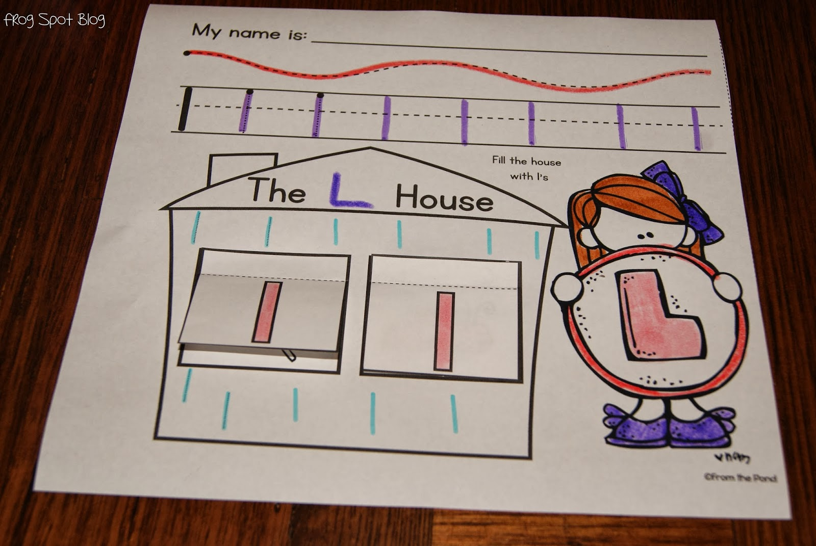 My First Alphabet Worksheets And A Flash Freebie