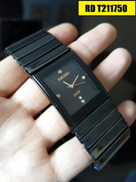 Đồng hồ nam mặt chữ nhật Rado RD T211750