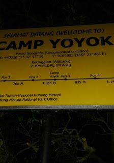 Camp Yoyok Merapi Via Sapuangin