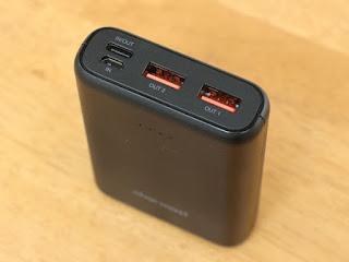Charmast 10400mAh モバイルバッテリー 大容量 薄型 軽量 小型 コンパクト Type-C 18W PD対応 QC3.0 急速充電 3出力ポート 【PSE認証済み】 iPhone Android対応