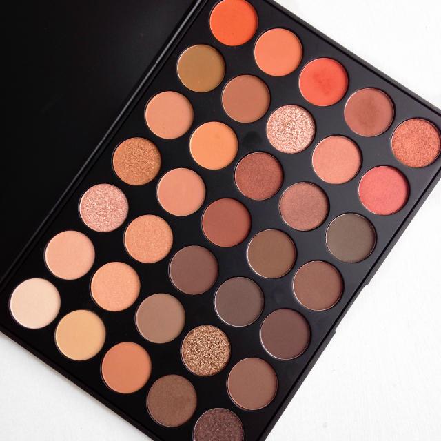 morphe 35o palette review