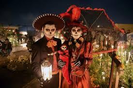 عودة الأرواح فى يوم الموتى بالمكسيك