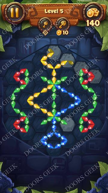 Gems & Magic [Indigo] Level 5 Solution, Walkthrough, Cheats