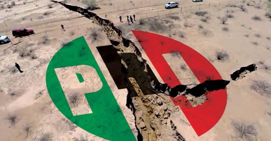 Pierde el PRI más de 5 millones de militantes
