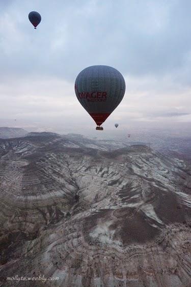 Hot air balloon di Cappadocia
