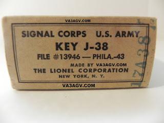 VA3AGV Lionel Morse Code J-38 (Toronto Canada)