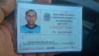 Em Cajazeiras, homem é encontrado sem vida