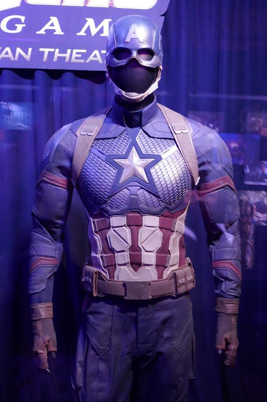 Captain America costume Avengers Endgame