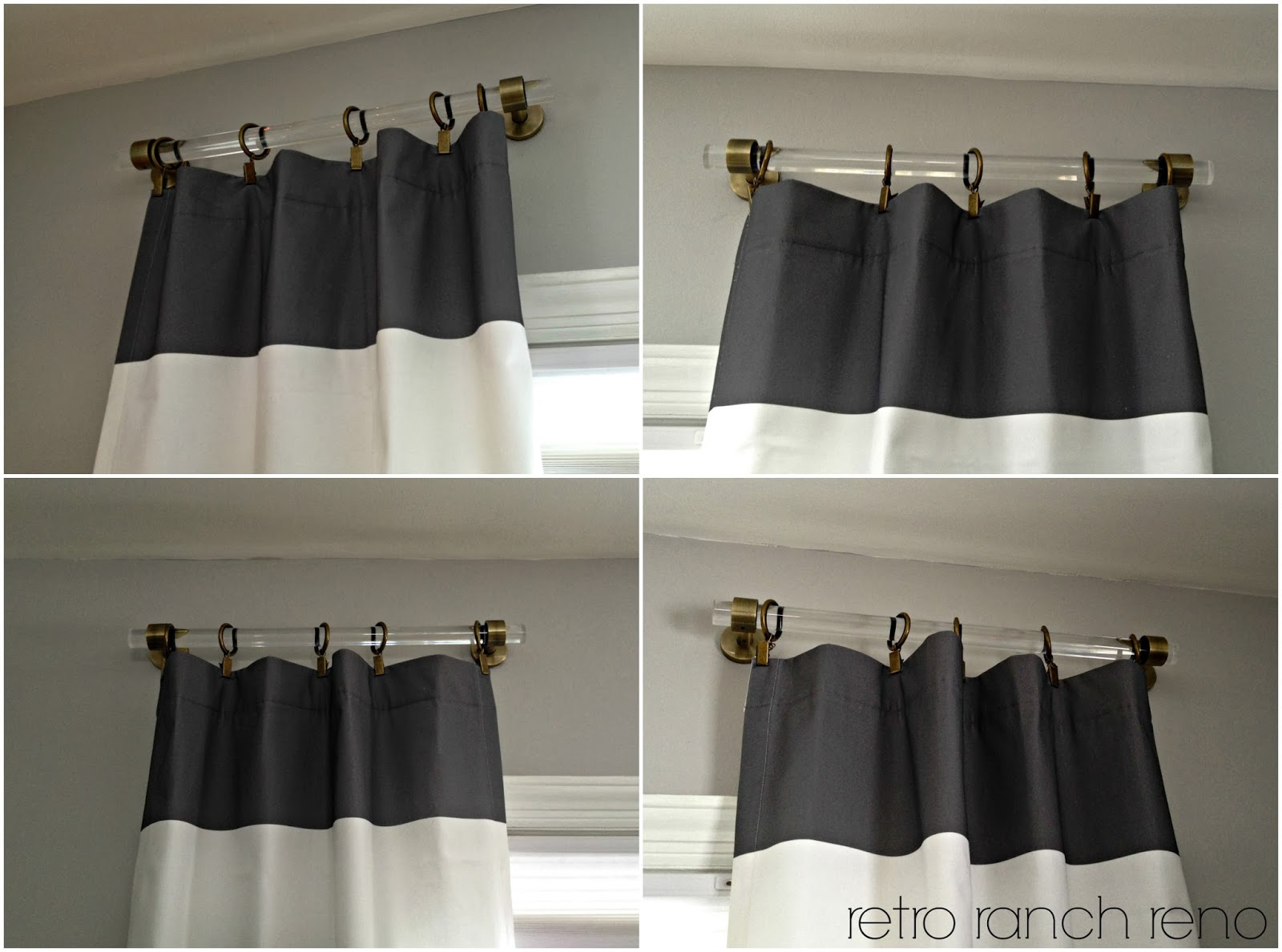 Retro Ranch Reno Lucite Curtain Rods Amp A Question