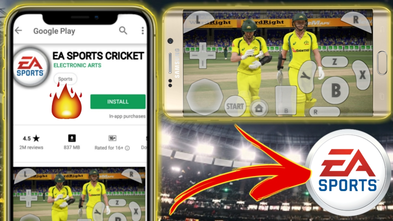How To Download Ea Cricket 2017 In Android King Of Game