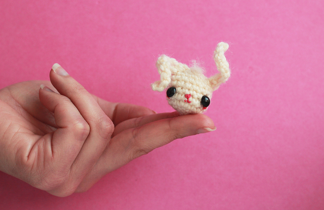 crochet) Pt1: How To Crochet an Amigurumi Rabbit - Yarn Scrap ... | 708x1092