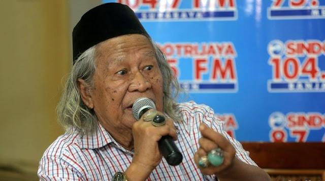 Jadi Kontroversi, Begini Pernyataan 'Sriwijaya Kerajaan Fiktif' Ridwan Saidi
