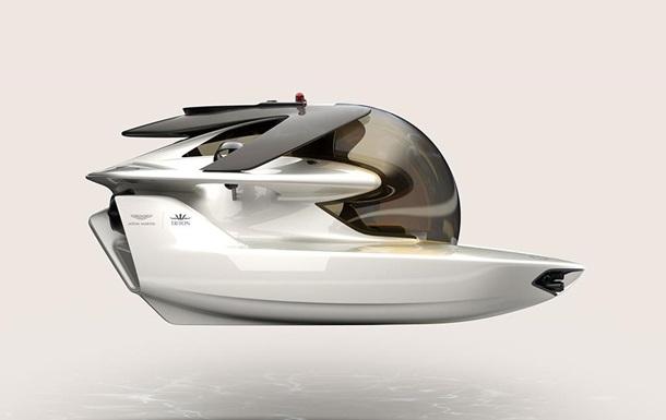 Aston Martin показав першу електросубмарину