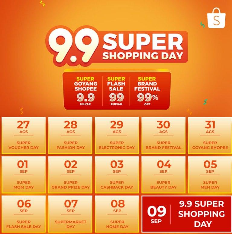 Diskon Terdahsyat Hadir Di Shopee 9 9 Super Shopping Day 2018 Mister Pangalayo