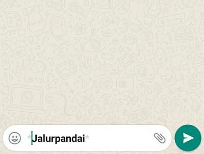 rahasia yang terdapat pada whatsapp 2