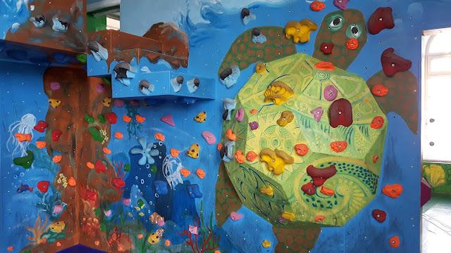 Boulderwelt München Kindergeburtstag feiern
