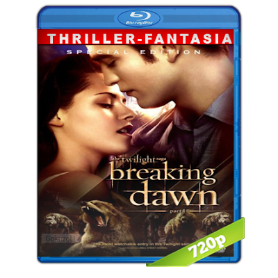Crepusculo 4 Amanecer Parte 1 (2011) BRRip 720p Audio Trial Latino-Castellano-Ingles 5.1