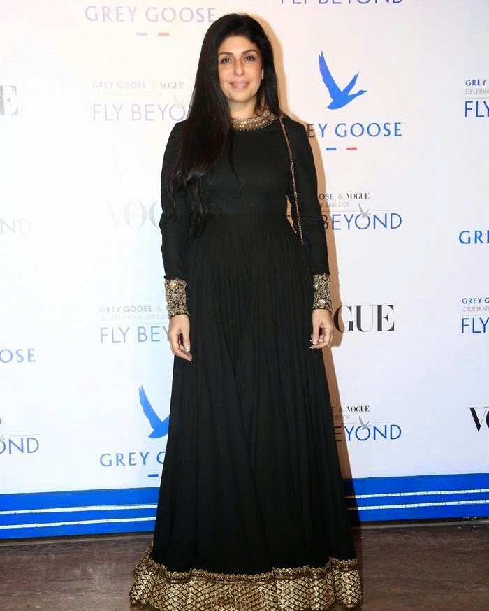 Anaita Shroff Adajania, Pics from Red Carpet of Grey Goose & Vogue's Fly Beyond Awards 2014