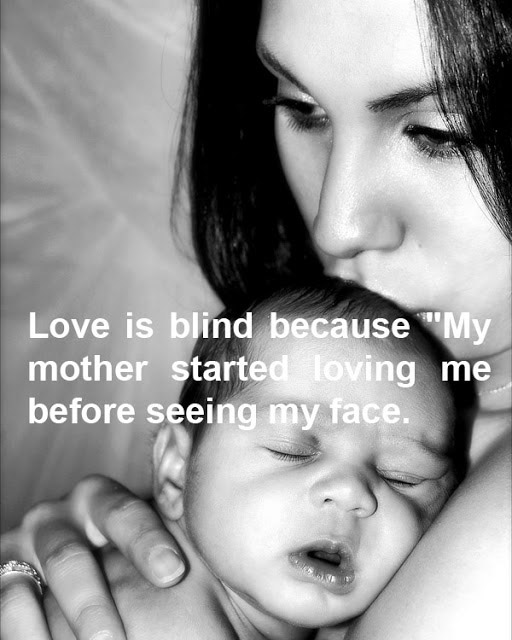 Heart Touching Love Images With Thoughts For My Love: Love Is Blind Quote English