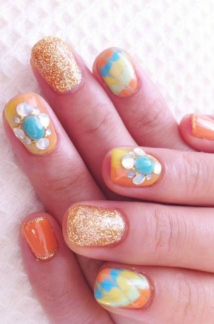 Latest Nails Fashion Of Ombre Nail Designs 2017: Latest Nail Art Designs