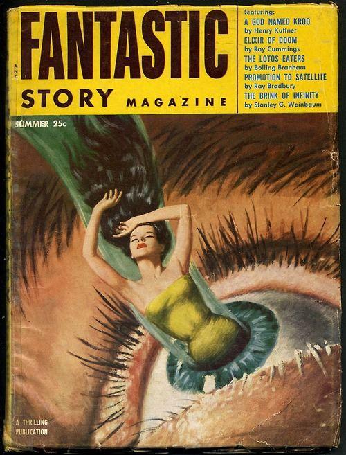 Fantastic Story Magazine verano 1954