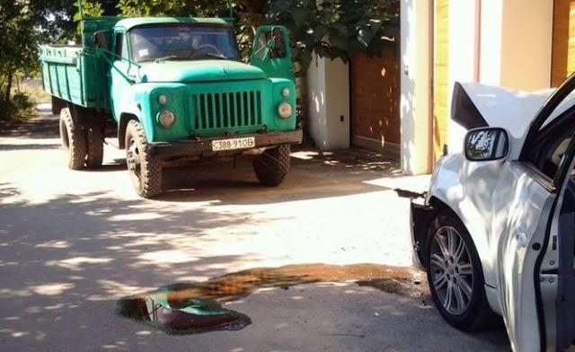 Поліція кваліфікувала таран вантажівкою машини з активістами Народного руху як замах на вбивство