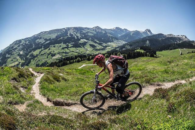 offizieller Biketrail Kitzbüheler Alpen