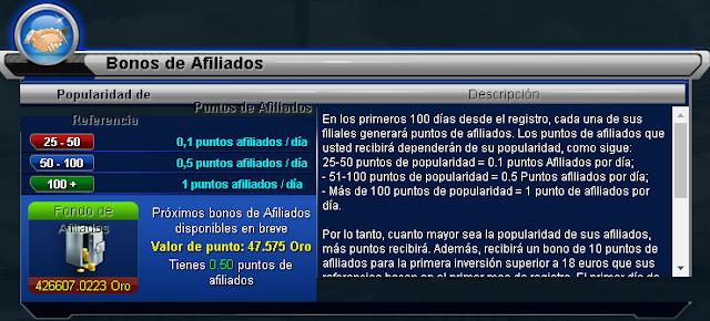 Gana dinero jugando Oferta Goaltycoon desde 50% retribuicion a asistencia  a tus referidos Afiliado