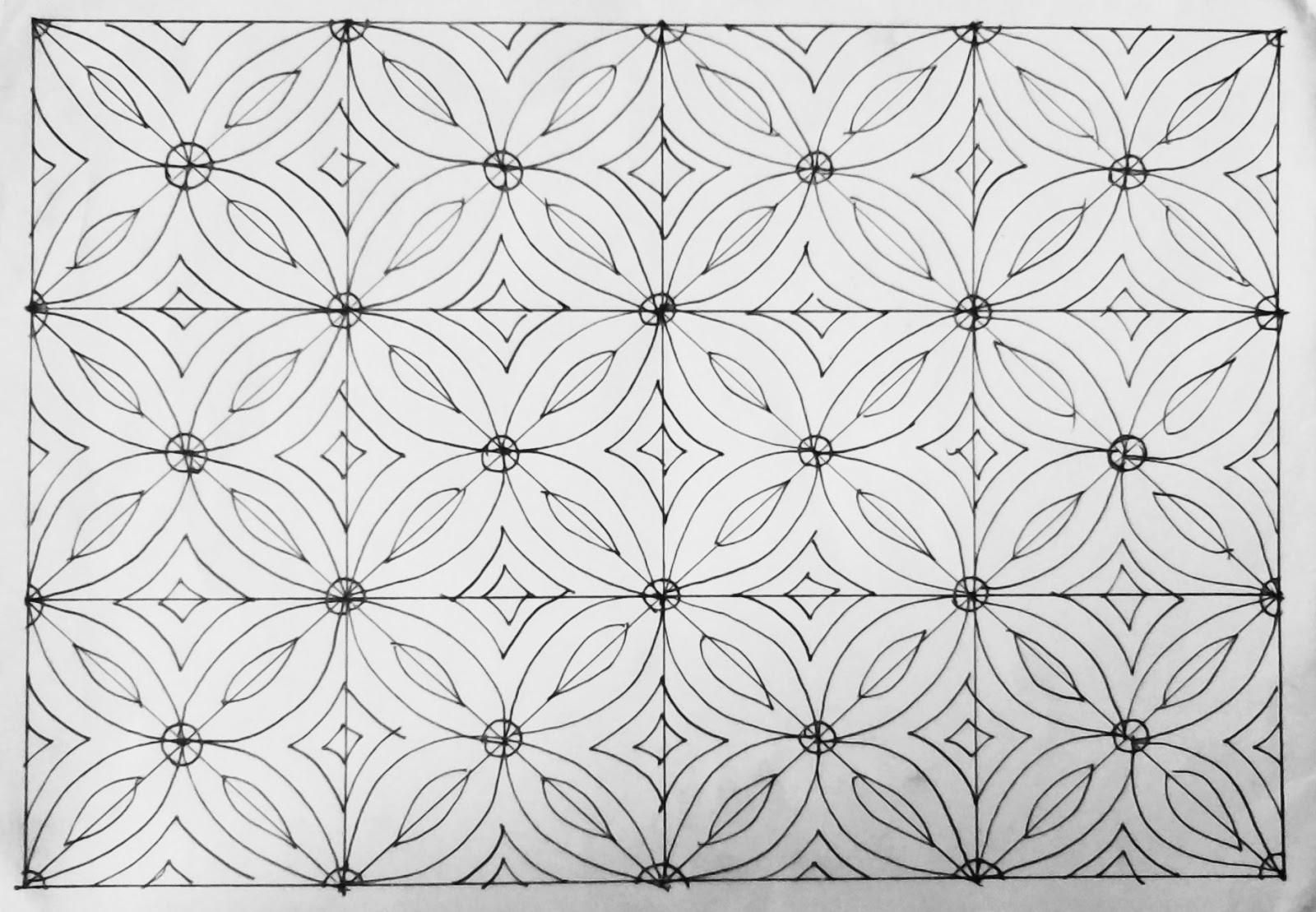 440+ Gambar Batik Keren Dan Mudah Terbaru