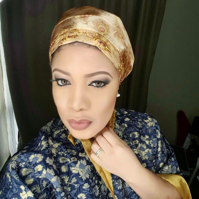 Take a look at  Monalisa Chinda's beautiful scarf