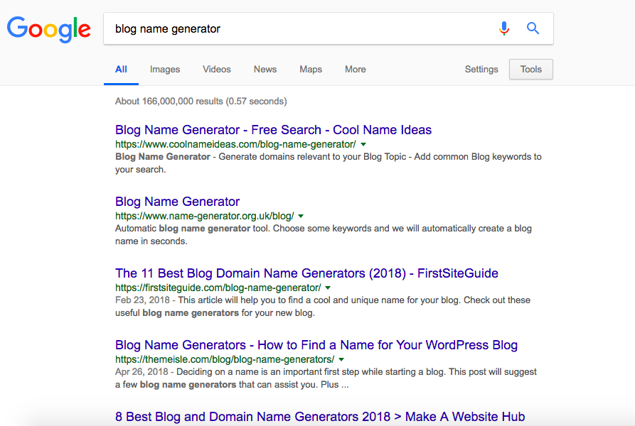 blog-name-generator