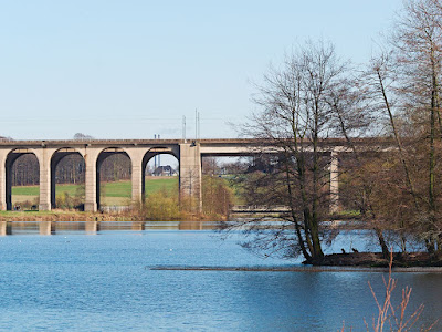 Obersee, Bielefeld, Eisenbahnbrücke, Viadukt