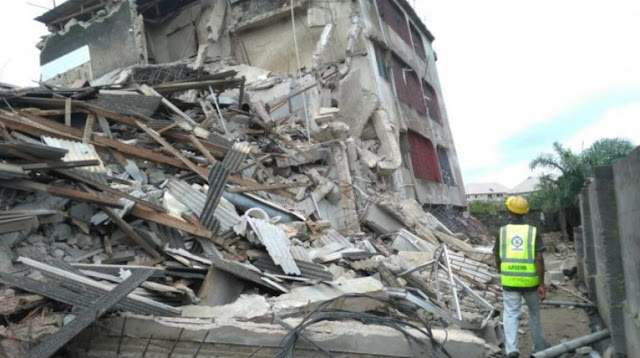3 storey building collapse alaba market