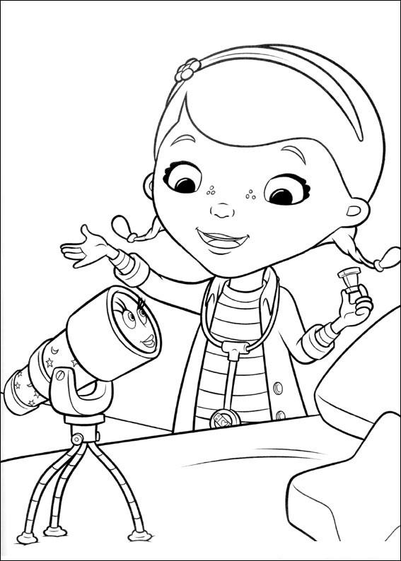 Doutora Brinquedos Desenhos Para Pintar Colorir Imprimir