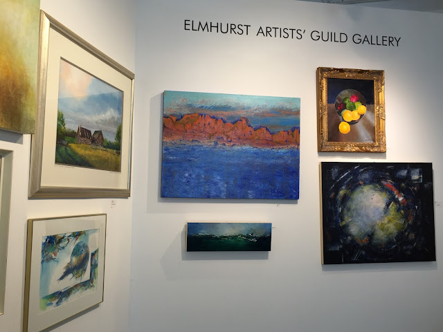 Elmhurst Artists' Guild Gallery for local artists in the Chicago area